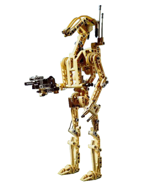 Lego Technic Set 8001 Battle Droid | Star Wars Lego Price Guide