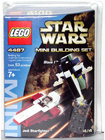 Lego 4487 MINI Jedi Starfighter and Slave I
