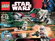 Lego 7655 Clone Troopers Battle Pack