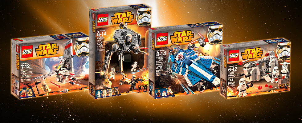 LEGO Star Wars 2015 Sets