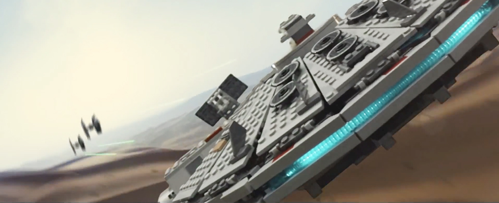 Star Wars Episode VII Teaser in LEGO Form