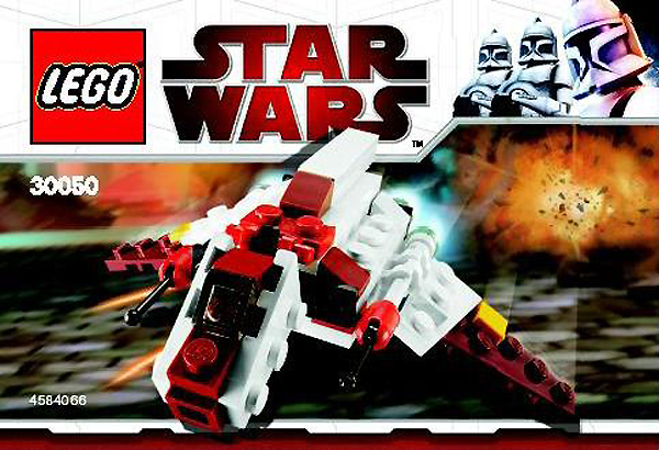 Lego 30050 Star Wars Mini Republic Attack Shuttle