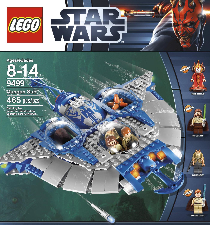 Lego 9499 Gungan Sub