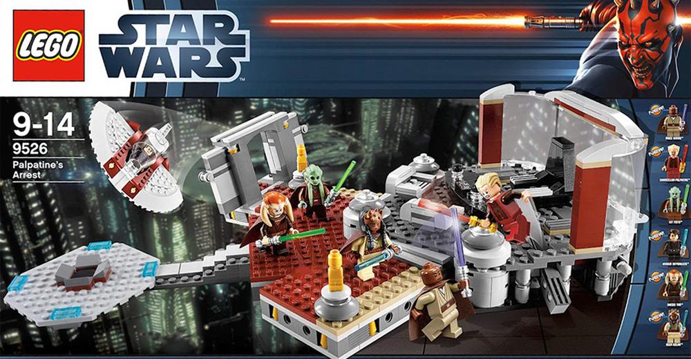 Lego 9526 Palpatine S Arrest